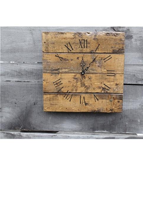 Oldwooddesign Roma Rakamlı Saat Renkli